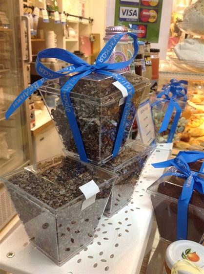 Ресторан Веанжи - фотография 4 - какао- бобы,те самые из чего делают шоколад