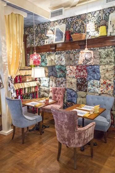 Ресторан Любовь - фотография 4 - Малый зал
