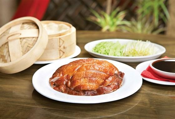 Ресторан Китайский квартал - фотография 3 - Утка по-пекински