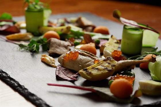 Ресторан Funky Lab - фотография 7 - Салат Люсьен Оливье