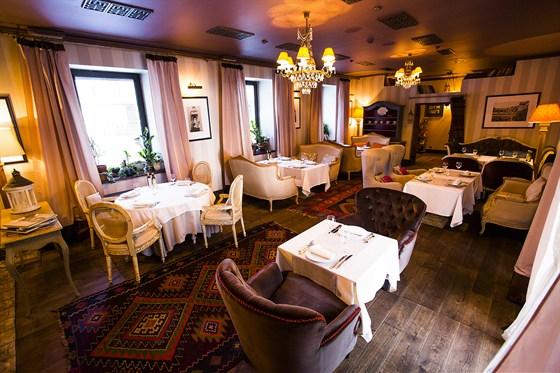 Ресторан Sorbetto - фотография 24 - Гостиная.