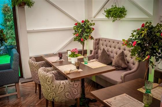 Ресторан Pilove Café - фотография 17 - Летняя веранда