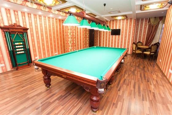 Ресторан Greenwich - фотография 5 - VIP кабинет с бильярдом,шахматами и нардами ручной работы. на 10 персон