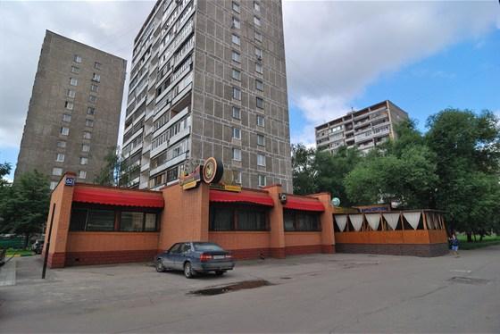 Ресторан Золотая лихорадка - фотография 15 - Фасад до ремонта