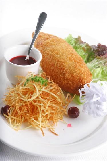 Ресторан Павильон - фотография 21 - Легендарная Котлета По-киевски