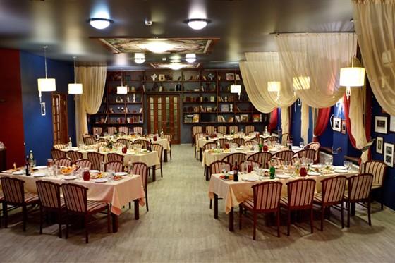 Ресторан Дом актера - фотография 2 - Банкетный зал