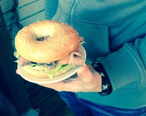Ресторан Bread & Beef  - фотография 7 - Roast Beef Sandwich!
