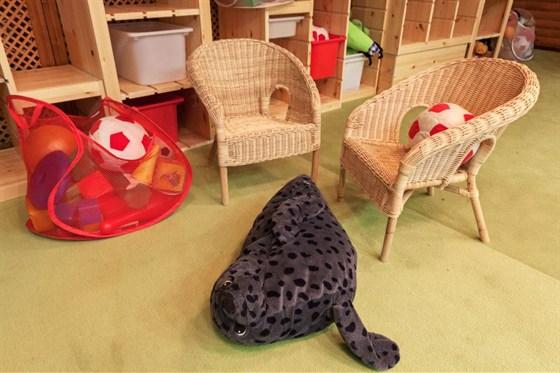 Ресторан Шале - фотография 5 - Детская комната.