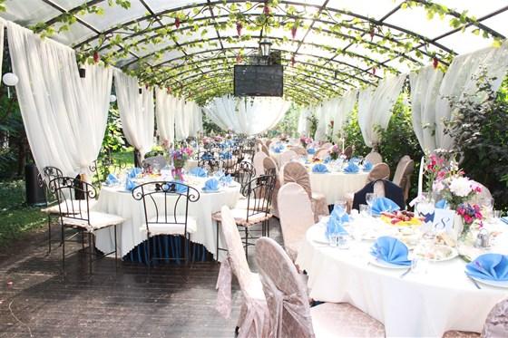 Ресторан Норд стар - фотография 14 - Летняя веранда свадьба