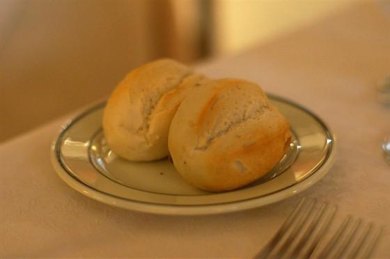 Ресторан На Знаменке - фотография 14 - булочки,выпеваются на месте