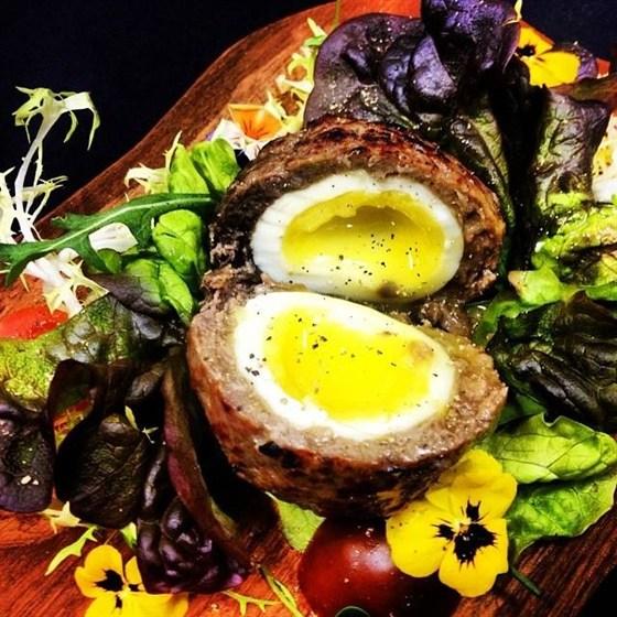 Ресторан Whisky Rooms - фотография 28 - яйца по-шотландски