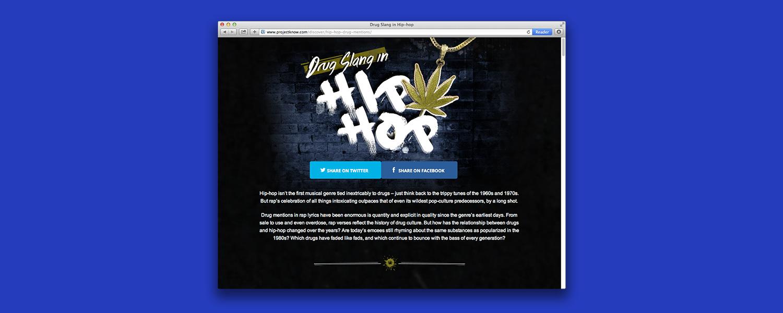 Наркоманский жаргон и хип-хоп: исследование