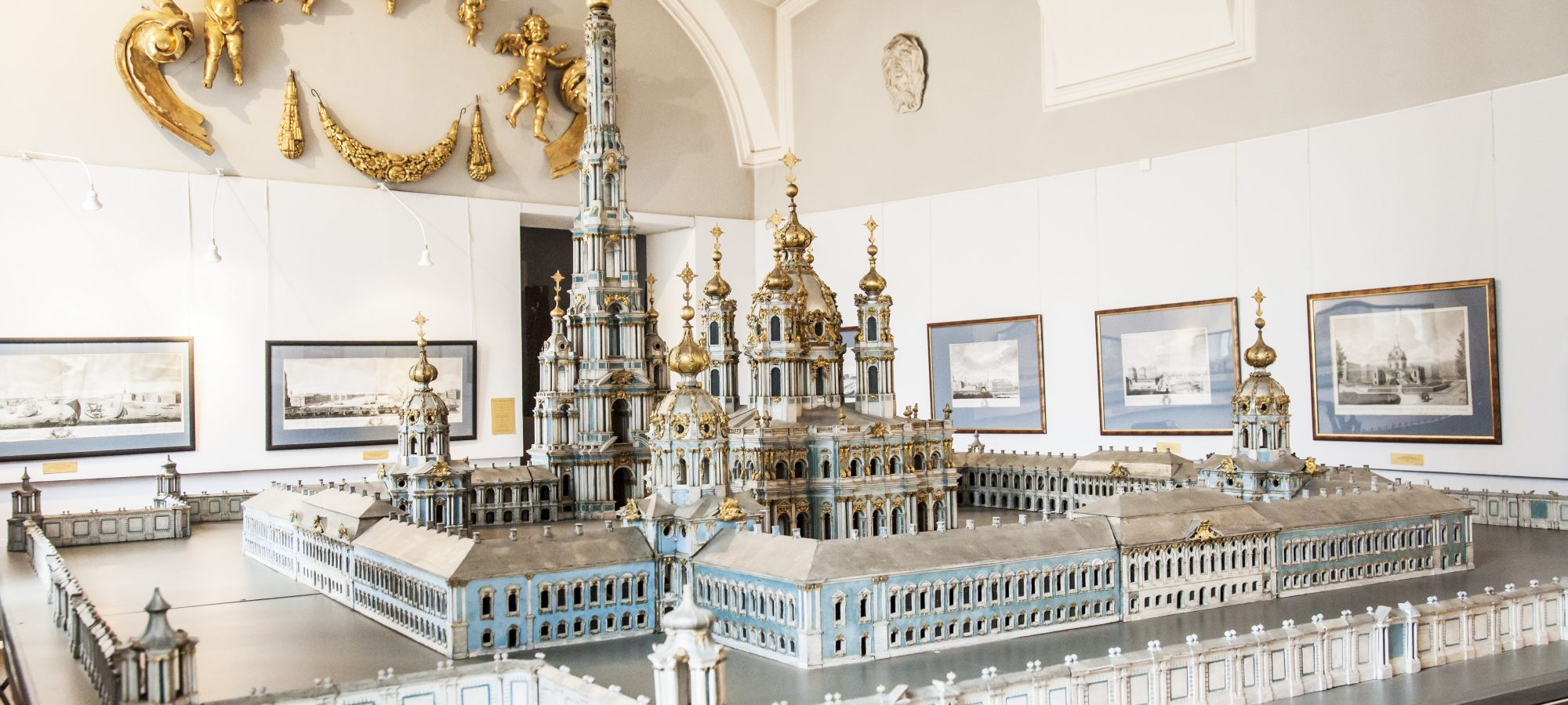 Петербург в архитектурных моделях и чертежах. XVIII–XIX века смотреть фото