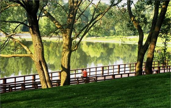 Фото парк Джамгаровский пруд