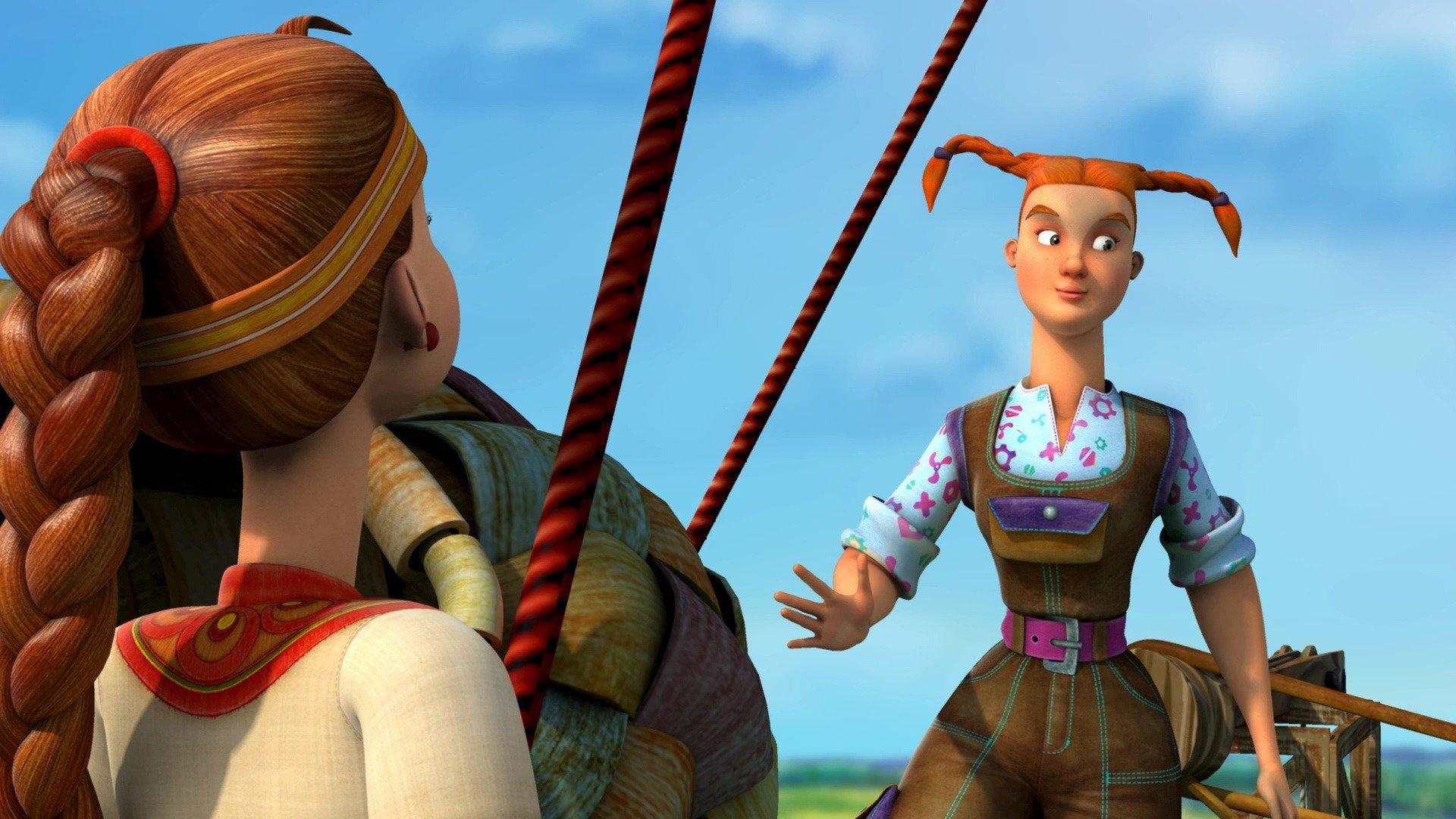 Приключения Аленушки и Еремы смотреть фото
