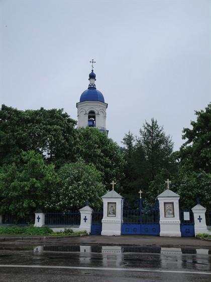 Фото церковь Воздвижения Креста Господня в Ополье