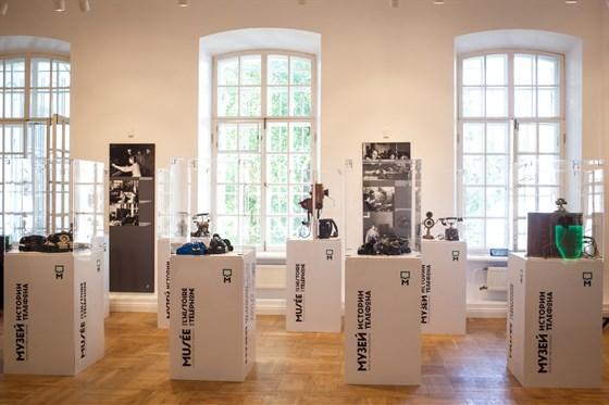 Фото музей истории телефона