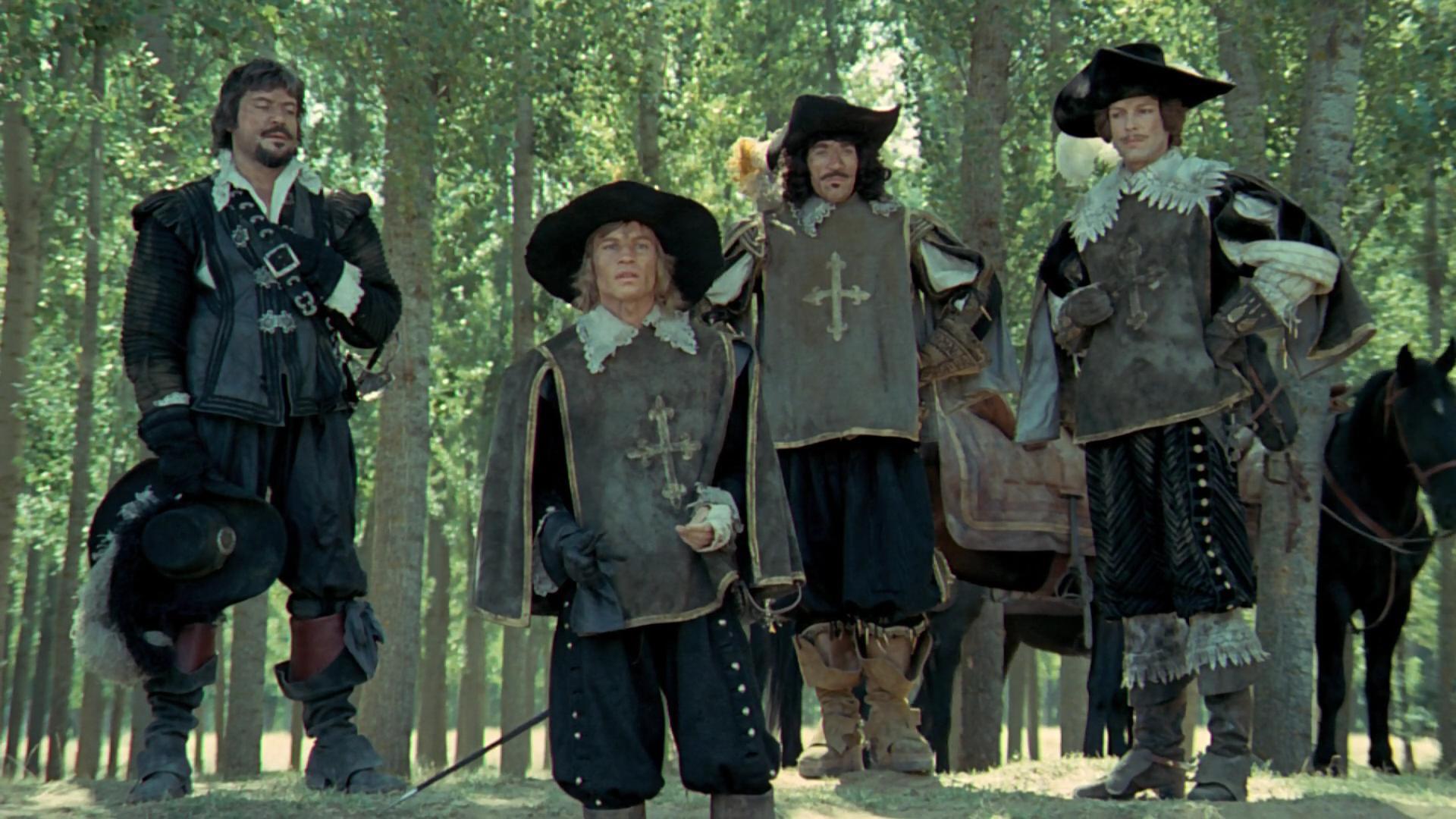 Четыре мушкетера смотреть фото