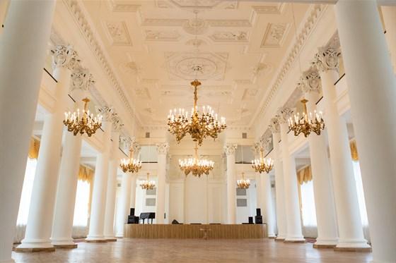 Фото колонный зал Дворянского собрания