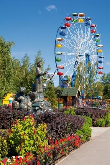 Фото парк Таганская слобода