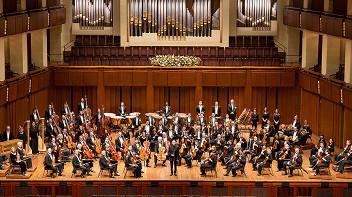 Вашингтонский национальный симфонический оркестр. Дирижер Кристоф Эшенбах. Солистка Алиса Вайлерштайн (виолончель)
