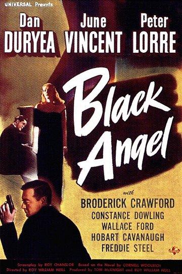 Постер Черный ангел