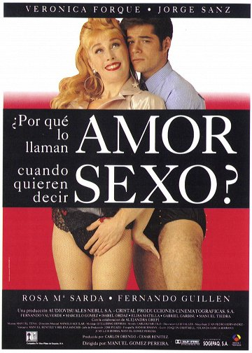 Постер Какая любовь, когда всем нужен только секс?