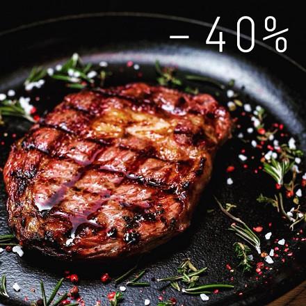 -40% на стейки!