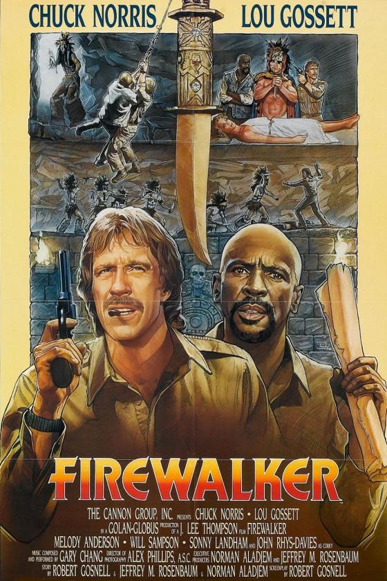Идущий в огне (Firewalker)