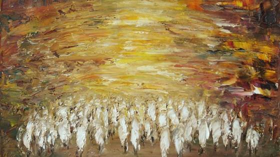 Иерусалим земной и небесный. Живопись Маргариты Левин