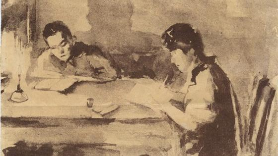 Рустам, Ольга и Зейнаб Яушевы