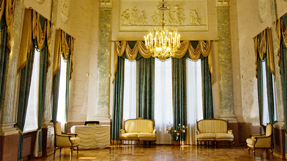 Дворец Дурасова в усадьбе Люблино