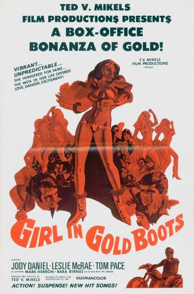 Девушка в золотых сапожках (Girl in Gold Boots)