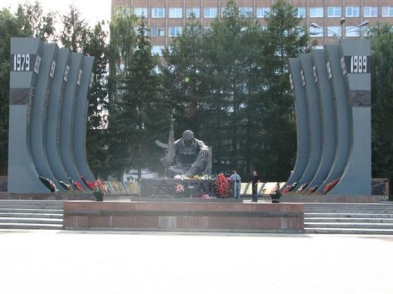 Памятник воинам-афганцам «Черный тюльпан»