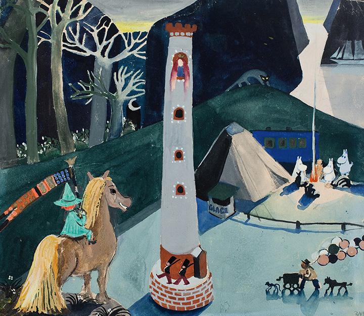 Сказочный мир муми-троллей был придуман Туве Янссон в годы Второй мировой войны