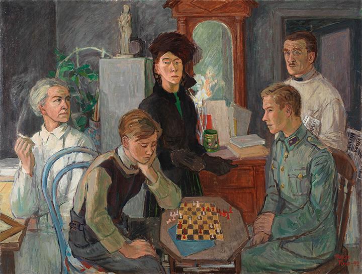 Туве Янссон. Портрет семьи, 1942