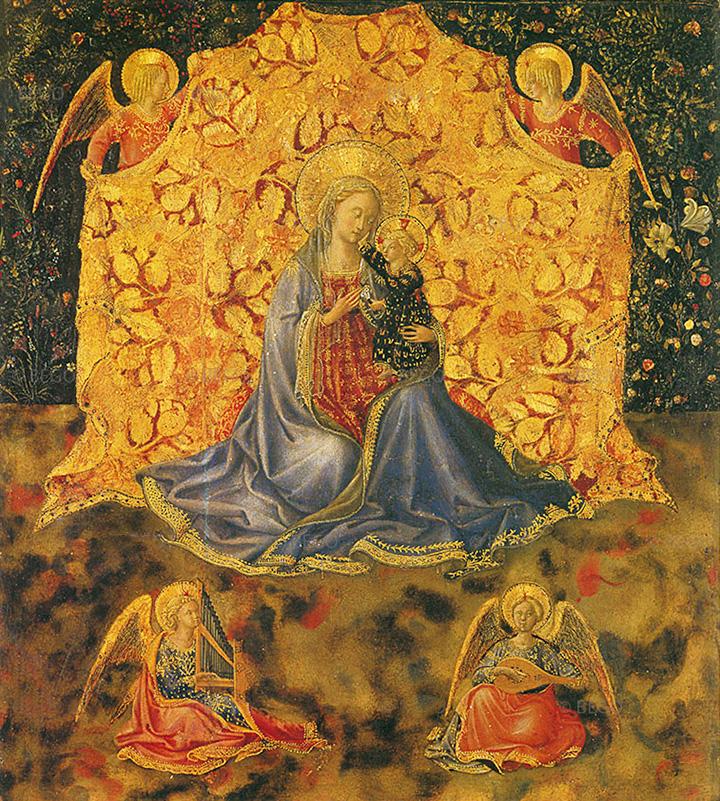Мадонна Смирение, около 1449–1450