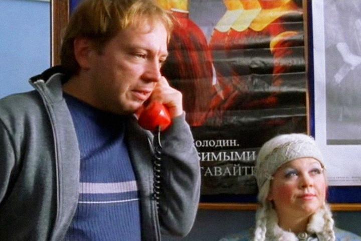 Вася Рогов разговаривает с Леной Роговой