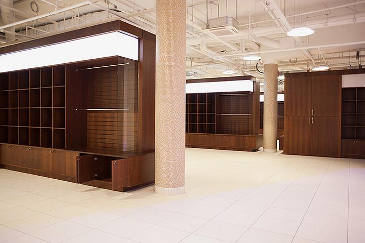 Вот это самое пространство Trend Island, где будут продавать одежду и украшения Items, Ready to Wear и другие маленькие и модные