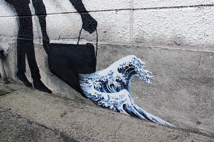 Стрит-арт в азиатских столицах