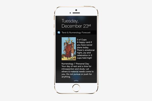 Таро (приложение Tarot & Numerology)