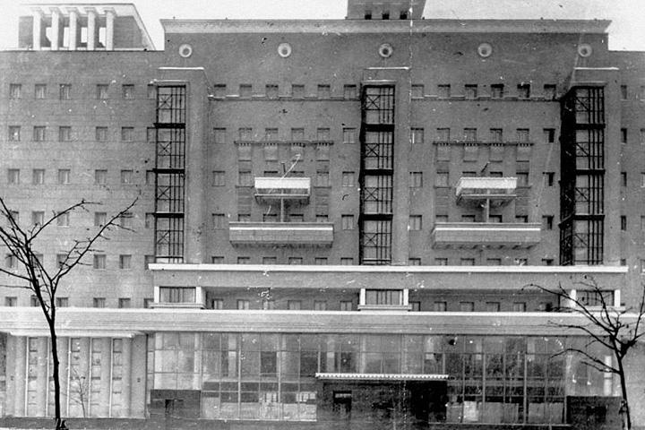 Большая Сухаревская пл., 14/7, архитектор — Д.Д.Булгаков, 1935 год
