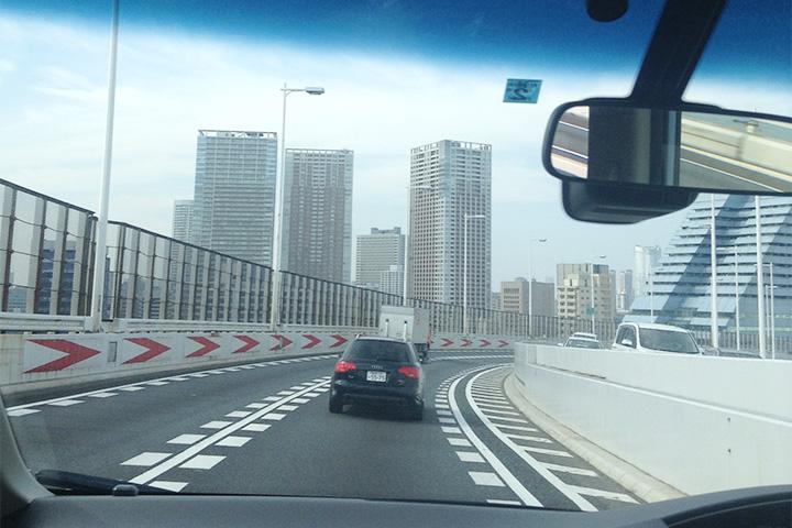 Въезд в Токио
