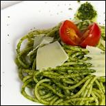 Ресторан La mia pizza - фотография 3 - Спагетти песто