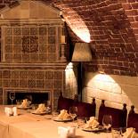 Ресторан D.O.M.E. 1722 - фотография 2 - Каминный зал вип