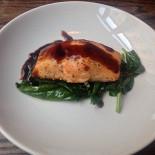 Ресторан The Standard - фотография 4 - стейк из лосося