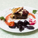 Ресторан Душа Сербии  - фотография 2 - Стейк Горгонзола