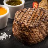 Ресторан Эль гаучо - фотография 1 - СТЕЙК ФИЛЕ  Стейк из  вырезки говядины, жаренный  на гриле.