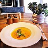 Ресторан Fooodcafé - фотография 5 - Постное меню 2014: крем-суп из тыквы