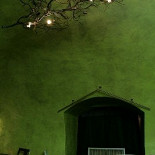 Ресторан Реставрация - фотография 5 - Один из залов (зелёный)